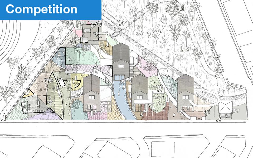 「第3回ポラス学生・建築デザインコンペティション 入選」